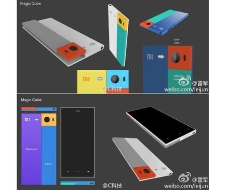 Xxiaomi Magic Cube Phone