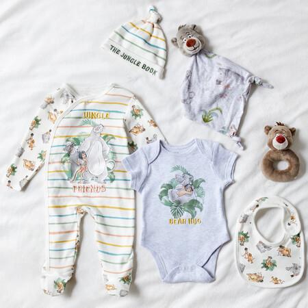 Newborn Jungle Book Starter Outfit 4 Piece Set Gbp9 Eur13 15 Pln55 Baby Disney Jungle Book Plush Rattle Gbp5 Eur6 7 Pln26