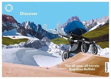 El próximo cochechito de Bugaboo: el todoterrerno Bugaboo Buffalo