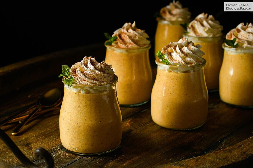13 recetas de postres con calabaza sanos y deliciosos