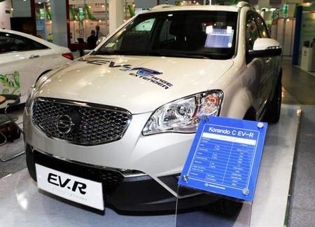 Primer eléctrico de autonomía extendida de Ssangyong