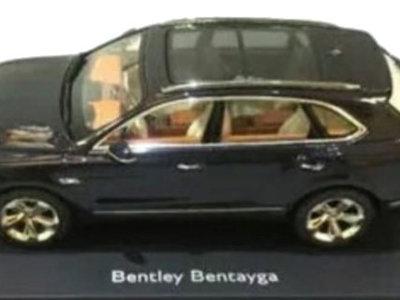 Si no puedes comprarte un Bentley Bentayga, siempre te quedará la maqueta a escala 1:18