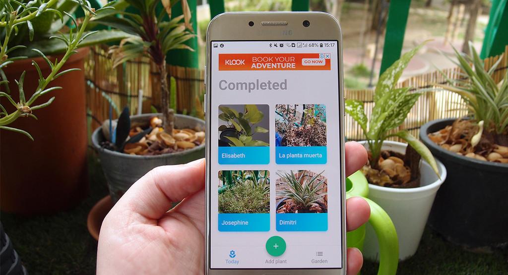 Esta es la apps que necesitas para dejar de matar a todas tus plantas