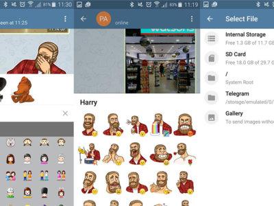 Telegram 3.8 trae cambios en la interfaz y una nueva plataforma de bots