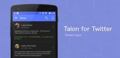 Luke Klinker presenta Talon (Plus) como una actualización a Android 5.0 por la que volverás a pagar
