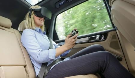 Porsche utilizará la realidad virtual para entretener a sus ocupantes