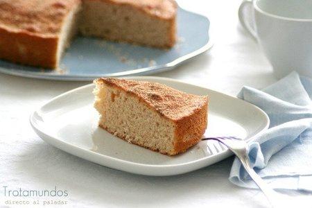 Cinnamon teacake.  Receta