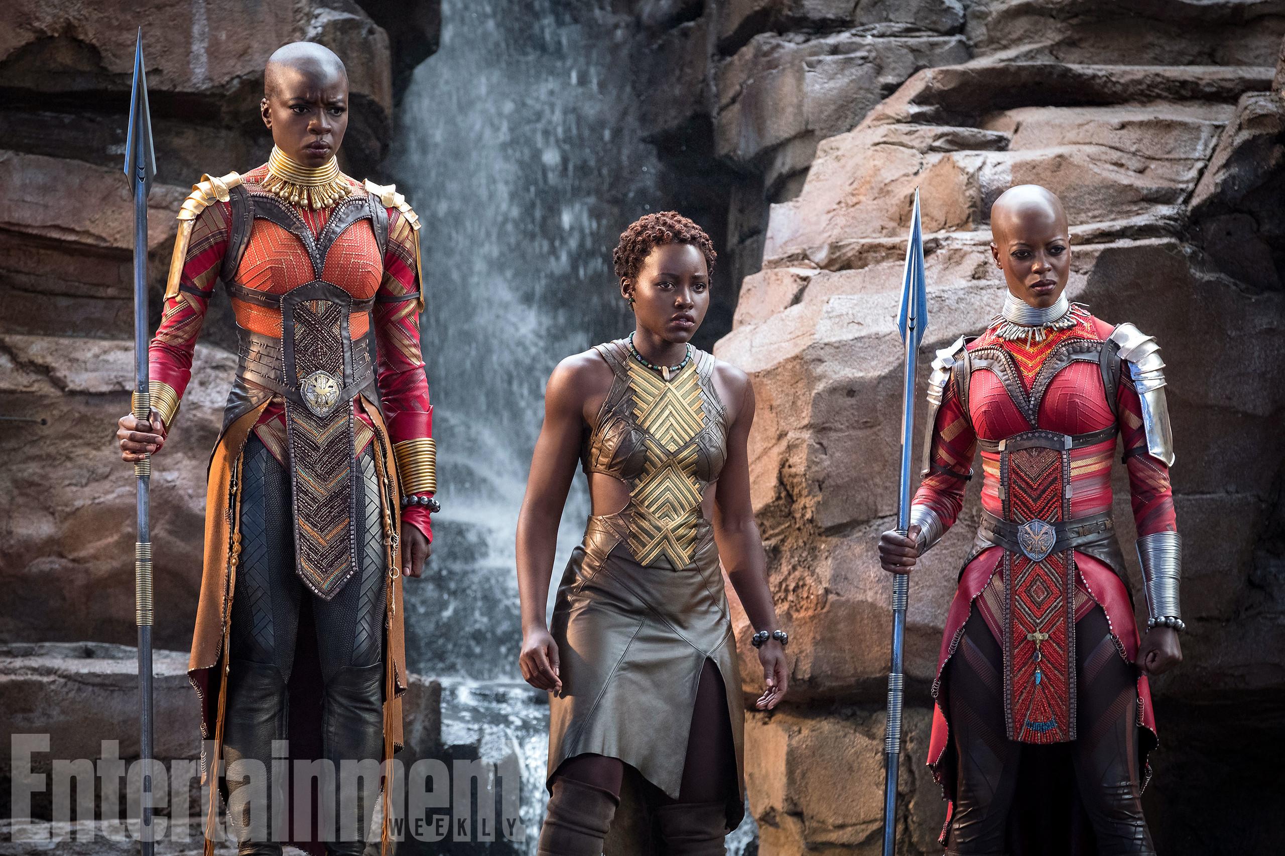 Foto de Nuevas imágenes oficiales de 'Black Panther' (14/20)