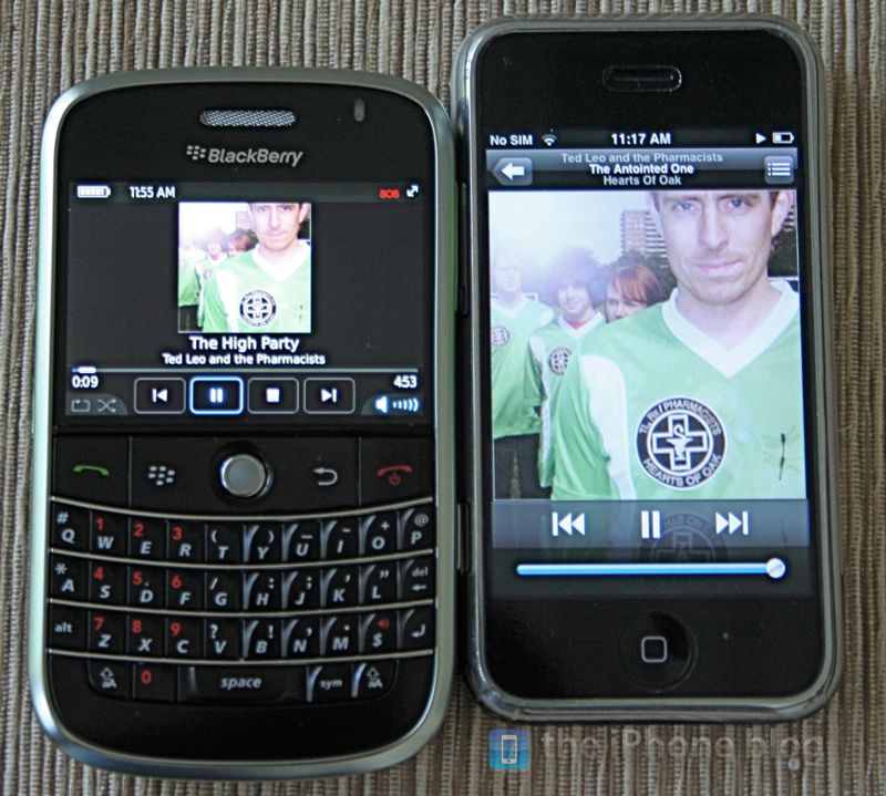 Foto de BlackBerry Bold vs iPhone (15/17)