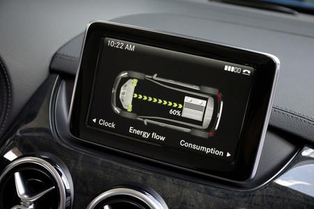 Mercedes Clase B Electric Drive, equipamiento interior