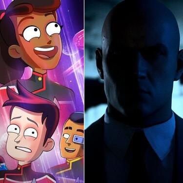 Seis planes imprescindibles para el fin de semana: 'Star Trek: Lower Decks', 'Hitman 3', Julio Verne y mucho más