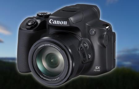 """Canon PowerShot SX70 HS, nueva bridge que busca sobresalir por un potente zoom 65x en un cuerpo de """"mini-réflex"""" ligera"""