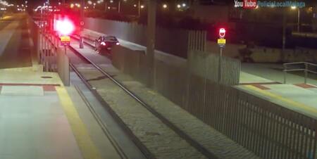 Coche Vias De Metro Policia Malaga