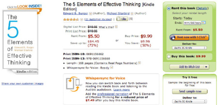 ¿Está Amazon ampliando su servicio de alquiler de libros?