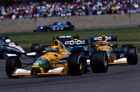 Moreno Piquet Benetton F1 1991