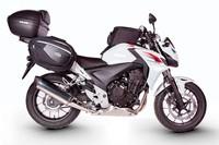 SHAD convierte en viajera a la Honda CB500F