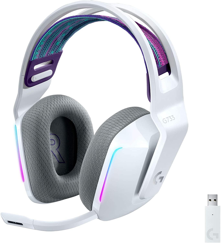 Audífonos inalámbricos Logitech G733 Lightspeed RGB