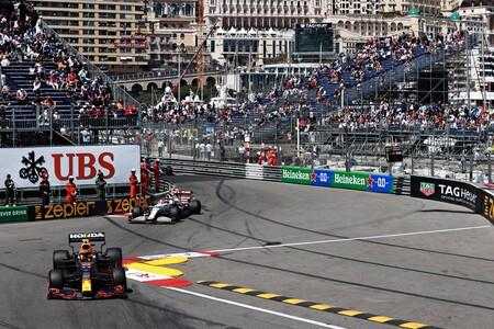 Sergio Perez Monaco F1 2021