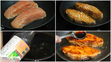 Salmon Glaseado Teriyaki