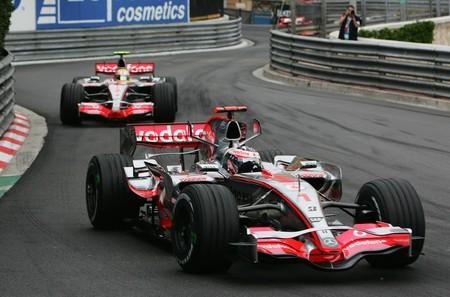 Alonso Hamilton Monaco F1 2007