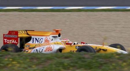 Tuvo que llegar Alonso para que el R29 volviera a ser rápido