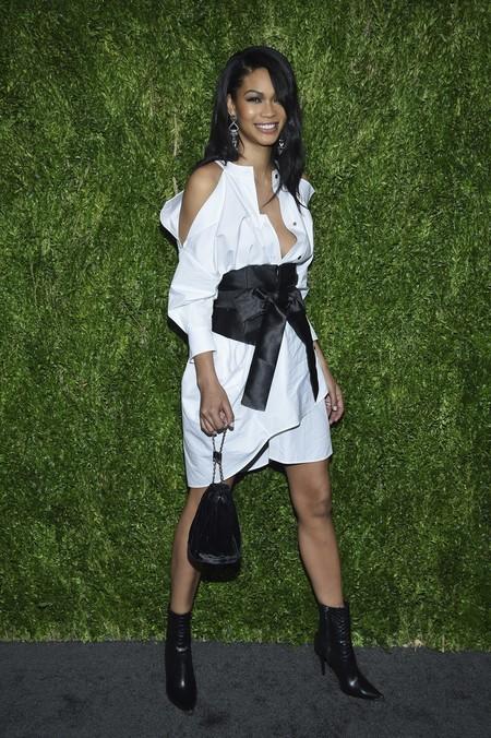 Chanel Iman look cfda