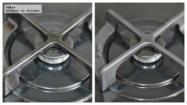 C mo limpiar los fogones de casa sin esfuerzo truco de cocina - Como limpiar baldosas cocina ...