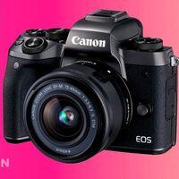 No te vayas de vacaciones sin cámara: estrena una sin espejo como la Canon EOS M5 con objetivo 15-45 por sólo 465 euros en Amazon