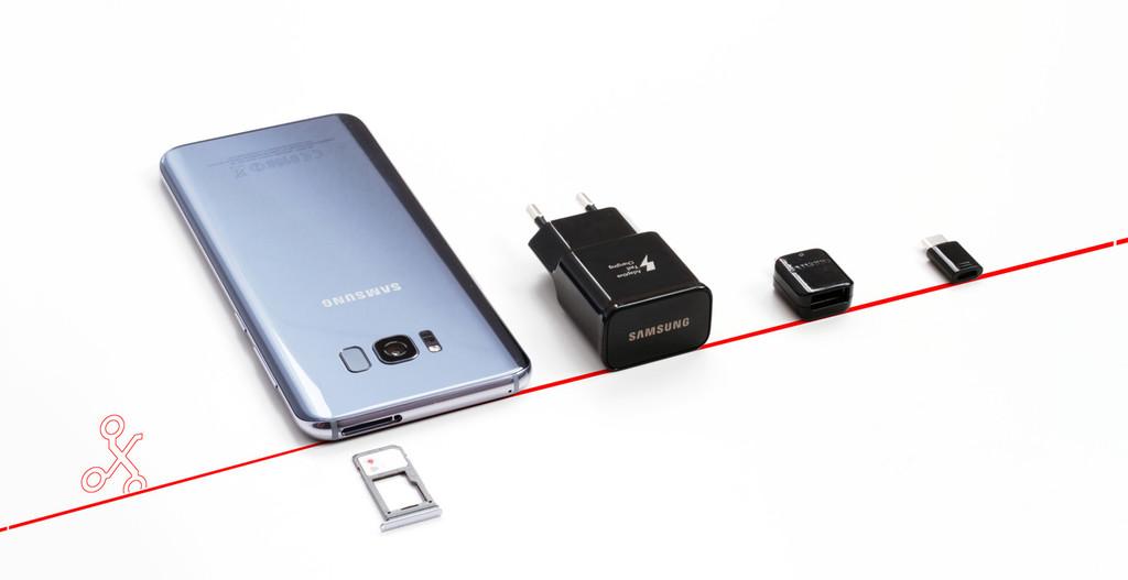 Cnexiones Galaxy S8+
