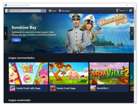 Facebook Arcade, la nueva aplicación de Facebook para los más jugones