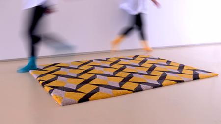 Divertidas alfombras de Two.Six inspiradas en el azulejo portugués tradicional