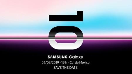 Samsung Galaxy S10 Mexico 6 Marzo