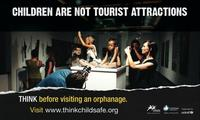 """Los niños no son atracciones turísticas: campaña contra el """"turismo de orfanatos"""""""