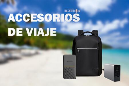 14 accesorios de viaje para iPhone, iPad y Mac rebajados en Macnificos para este verano: Power Banks, cargadores, mochilas y más
