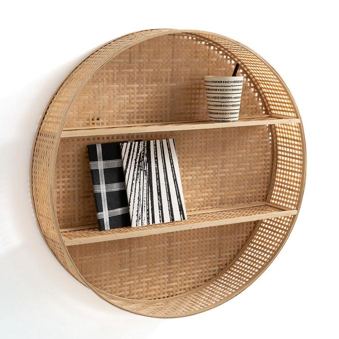 Estantería redonda de bambú, Hadga