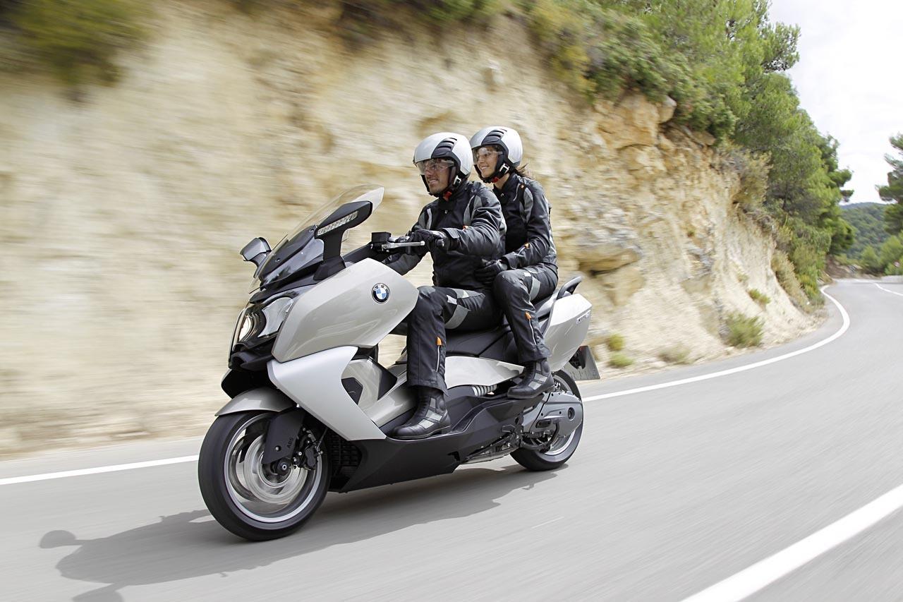 Foto de BMW C 650 GT y BMW C 600 Sport, acción (55/83)