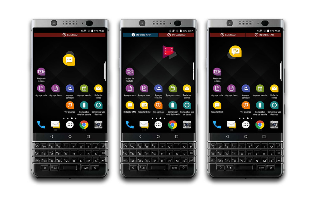 Blackberry Keyone Apps Posibilidades