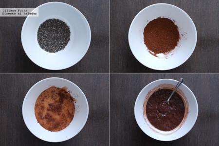 Pudding de Chia. Pasos