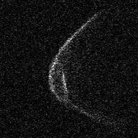 Incluso el asteroide que se aproxima a la Tierra parece llevar mascarilla