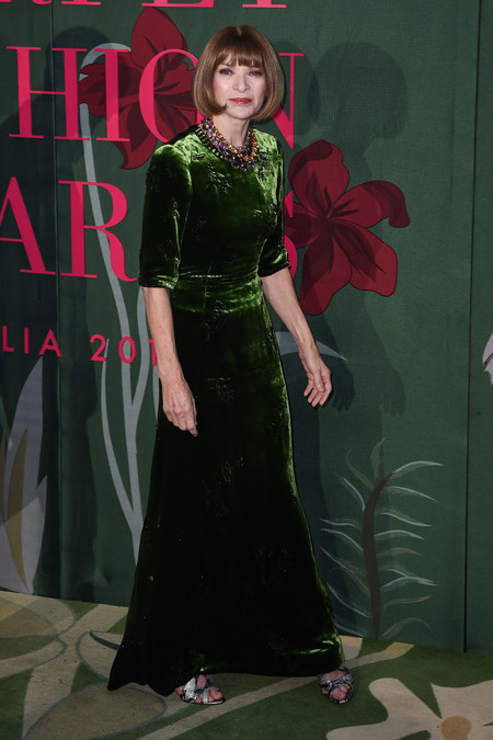 Anna Wintour green carpet fashion awards 2019