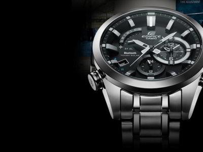 Casio presenta EDIFICE: su nuevo reloj con conexión completa a un smartphone