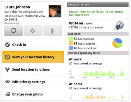 Google Maps 5.3 incorpora tu historial de localizaciones