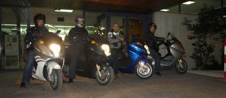 Las motos eléctricas ya se reunieron por segunda vez en Barcelona