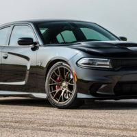 Así convierte Hennessey un Dodge Charger Hellcat en una bestia aún más bruta