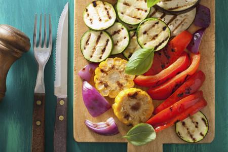 Recetas para una barbacoa vegetariana
