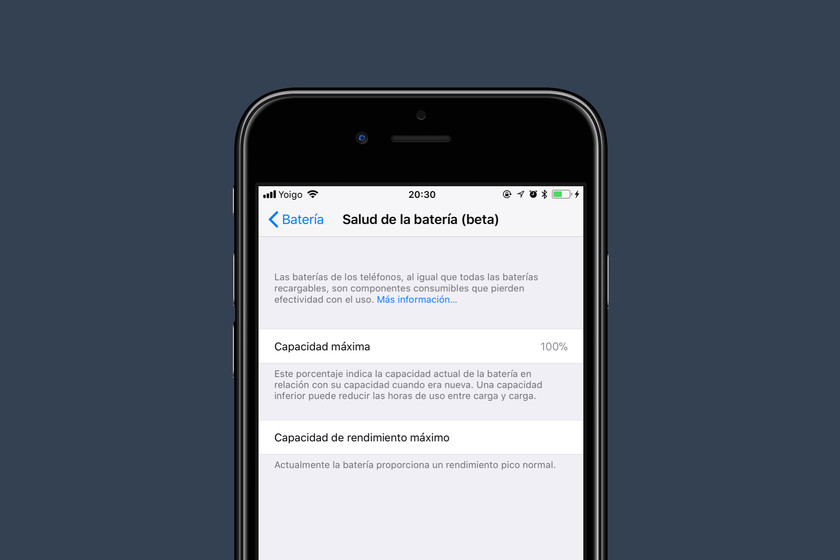 Resultado de imagen para STATUS DE BATERIA PARA IPHONE IOS 11.3.2