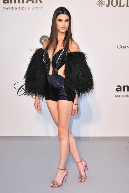 Carolina Mendes gala amfar 2019