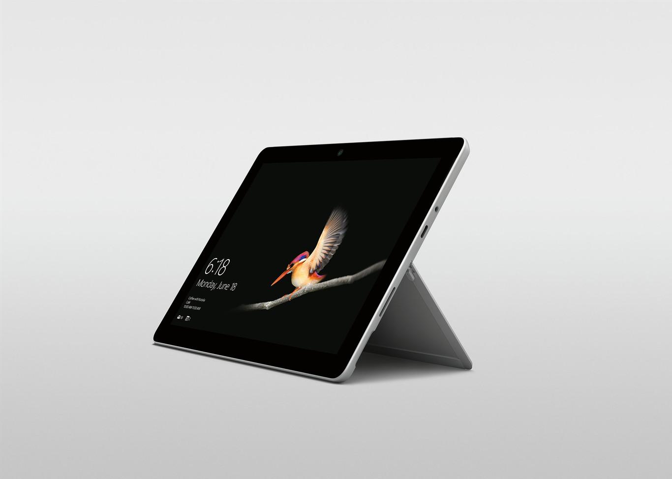 """Surface Go, Microsoft ya tiene una tablet ligera, """"asequible"""" y lista para competir contra el iPad"""