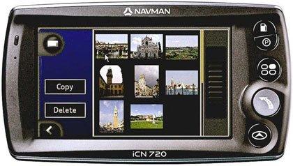 Navman iCN720 y iCN750