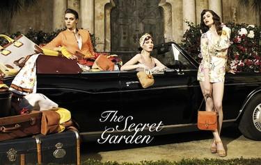 Shht, es un secreto... Un jardín, una campaña, una colección Primavera-Verano y Uterqüe